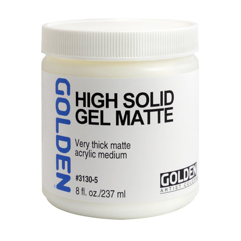 Golden High Solid Gel Matte - 8oz Jar
