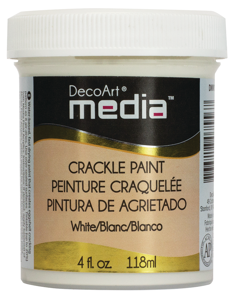 DecoArt White Crackle Paint