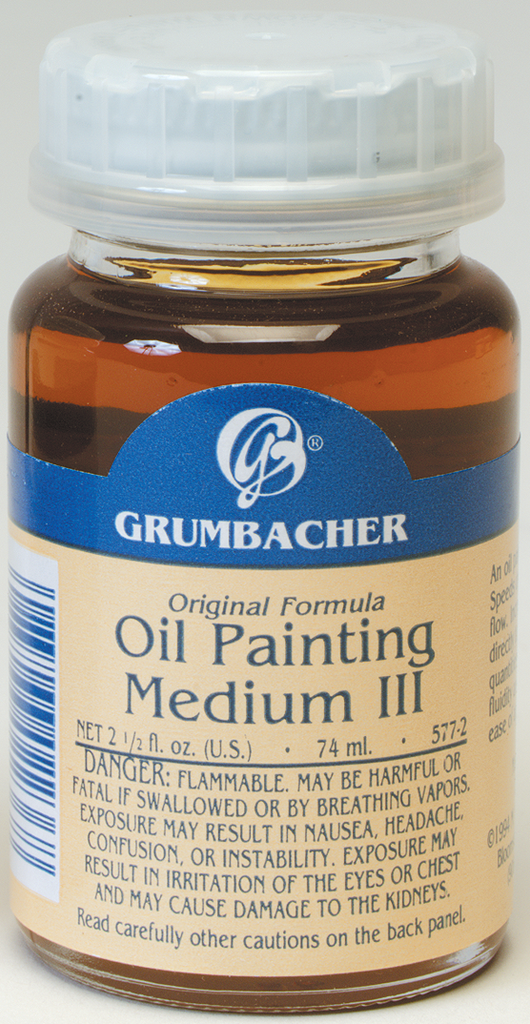 Oil Painting Medium III - 2.5oz