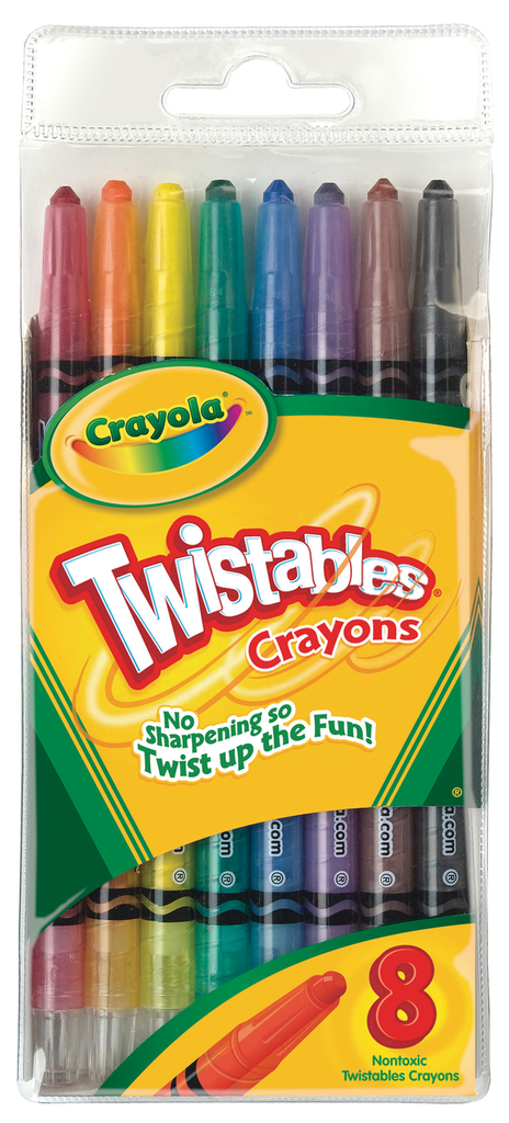 Crayola Twistables Crayon Set