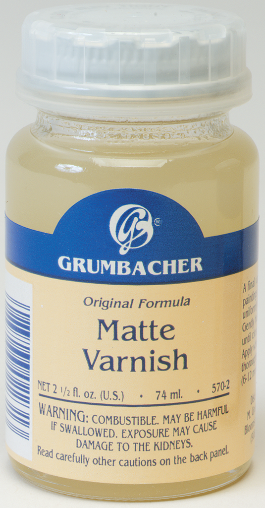 Matte Varnish - 2.5oz