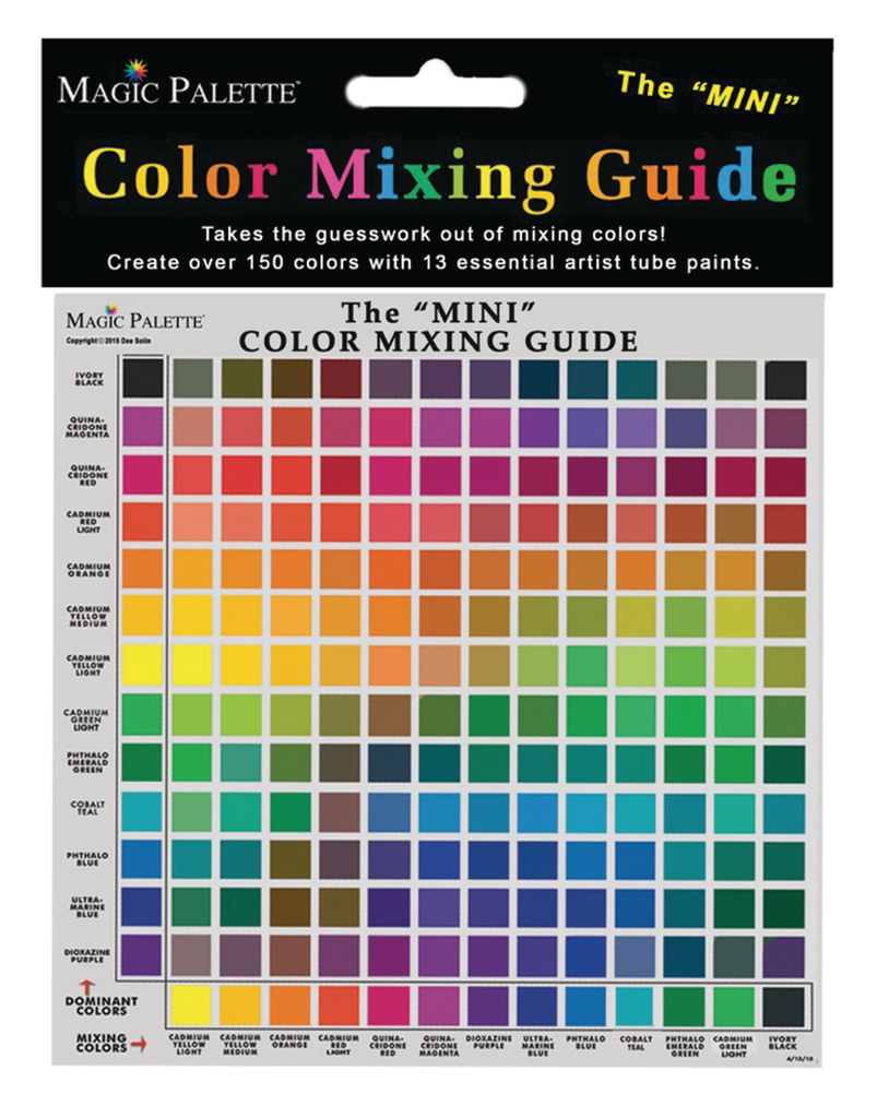 Magic Palette Mini Color Mixing Guides