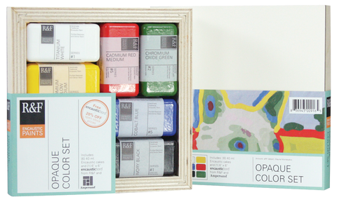 Encaustic Opaque Color Set