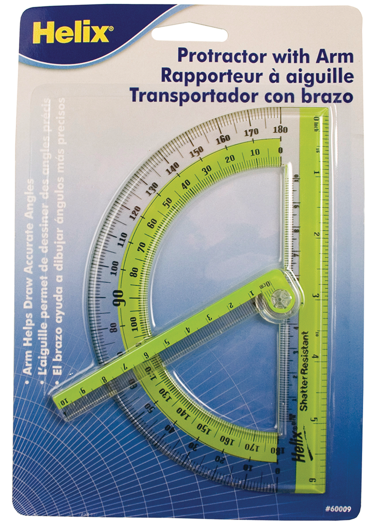 Swing-Arm Protractor (6in)