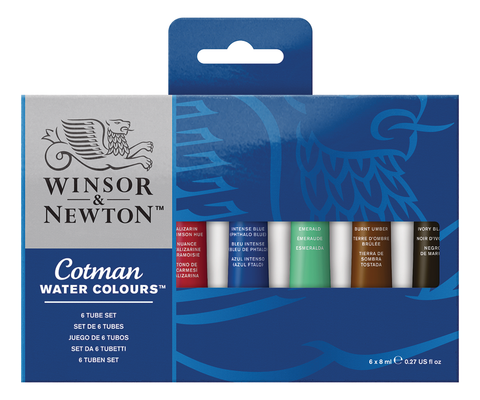 Cotman Water Colours Tube Sets