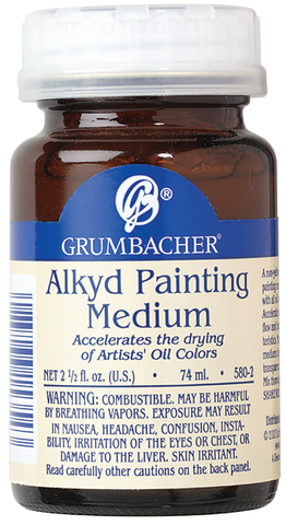 Alkyd Painting Medium - 2.5oz