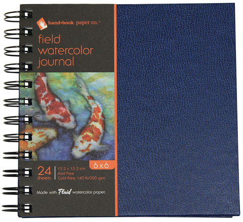 Handbook Cold Press Watercolor Field Journals