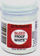 Bleed-Proof White Ink - 1oz Bottle
