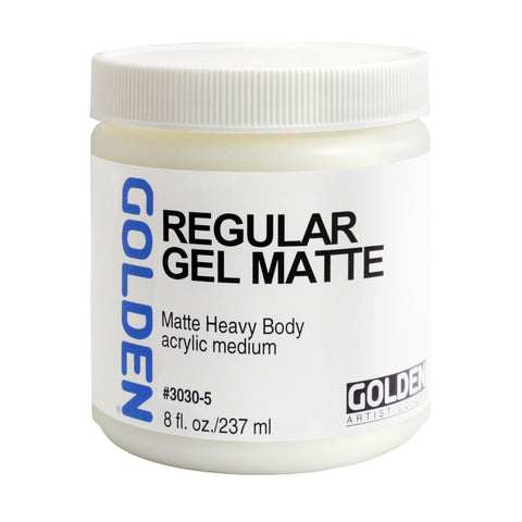 Golden Regular Gel Matte