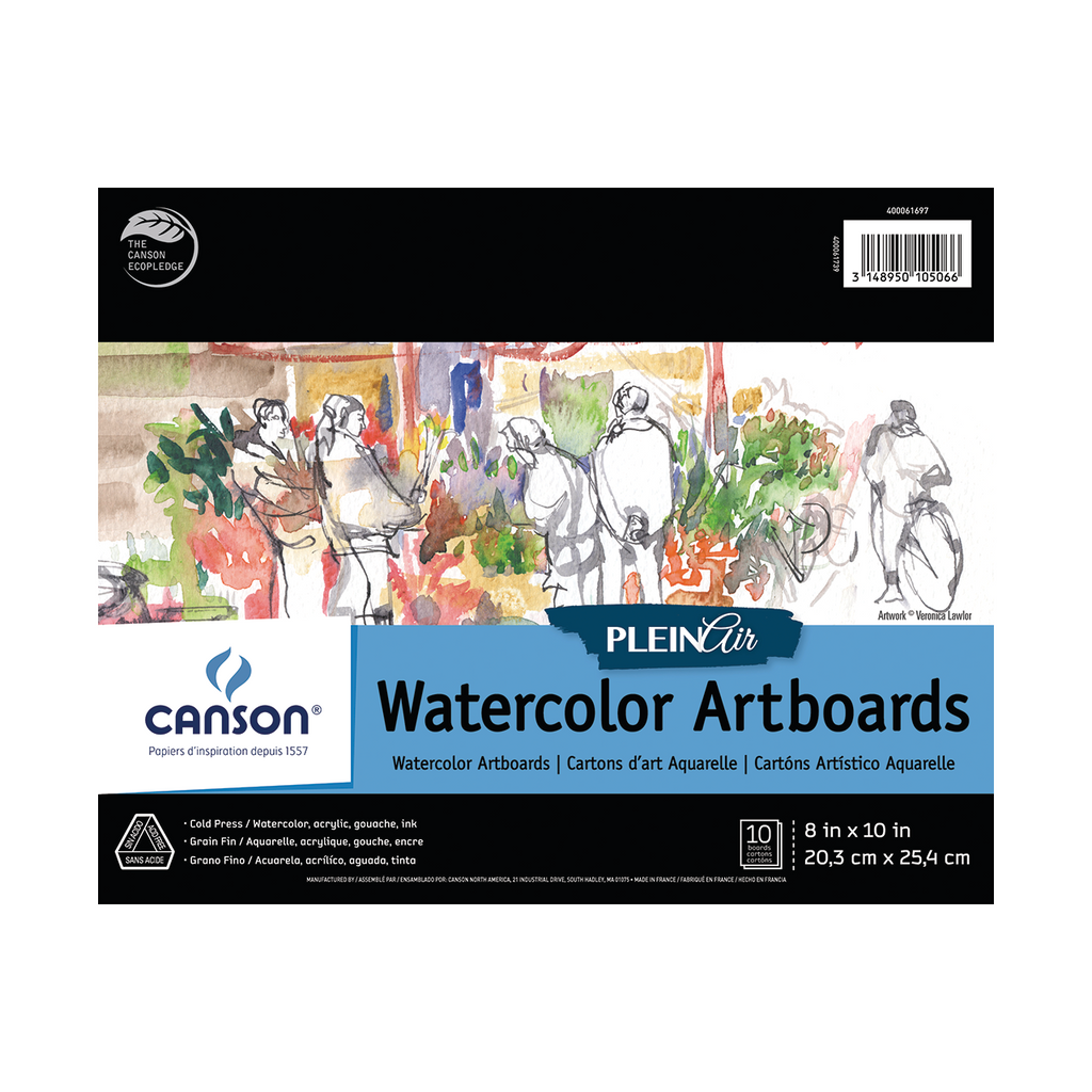 Canson Plein Air Watercolor Artboard Pads
