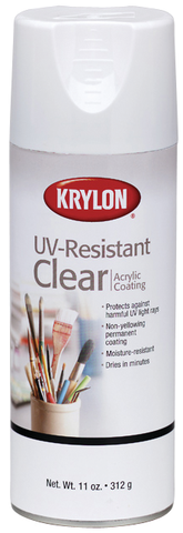 Krylon UV-Resistant Clear Finish Spray - 11oz