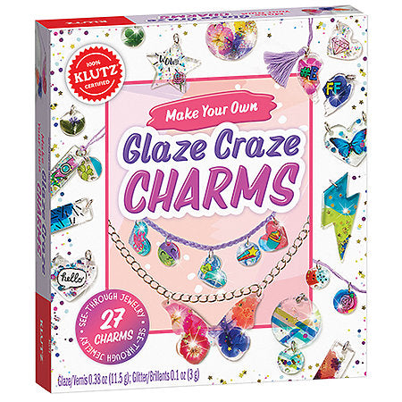 Make Your Own Glaze Craze Charms Kit