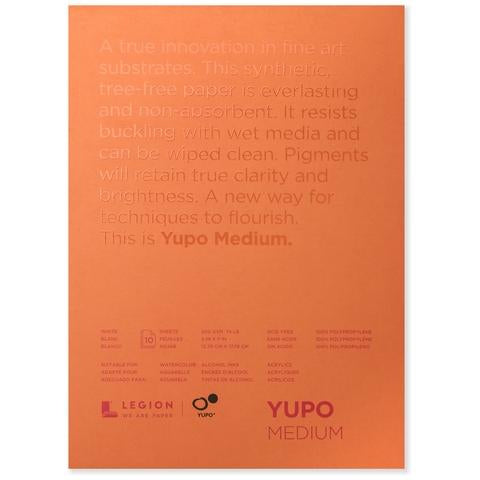 Yupo Medium Pads (White)