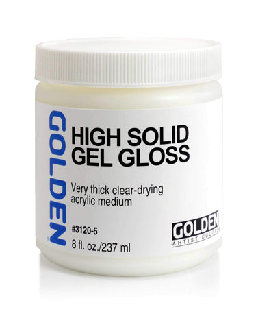 Golden High Solid Gel Gloss - 8oz Jar