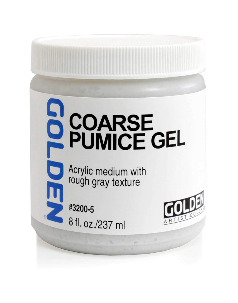 Golden Coarse Pumice Gel