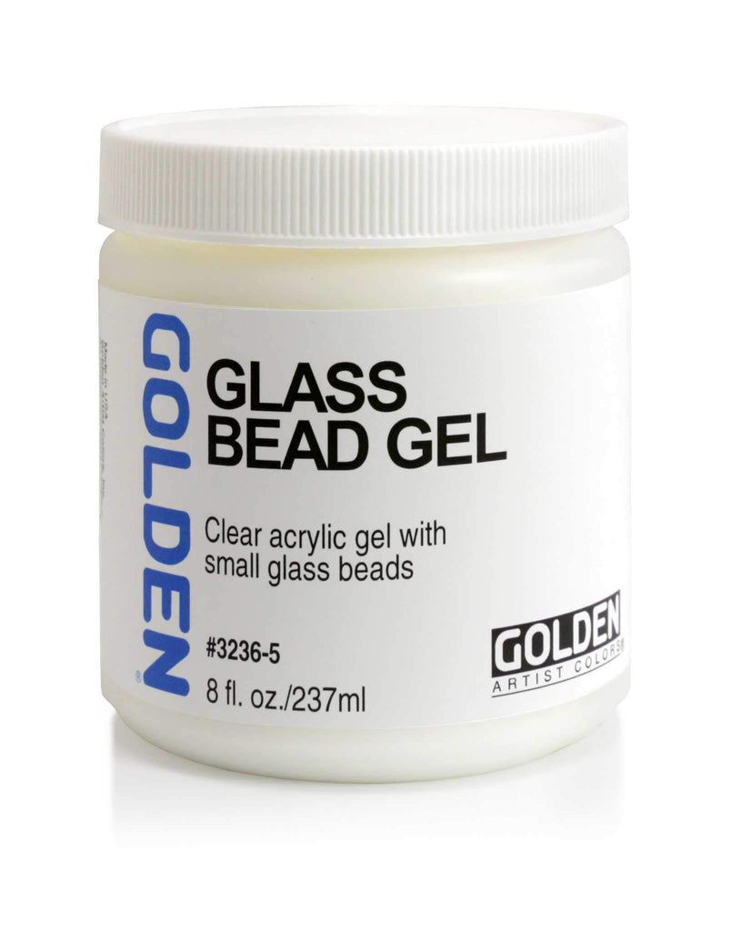 Golden Glass Bead Gel - 8oz Jar