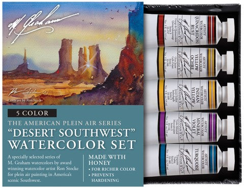 Desert Southwest Watercolor Set