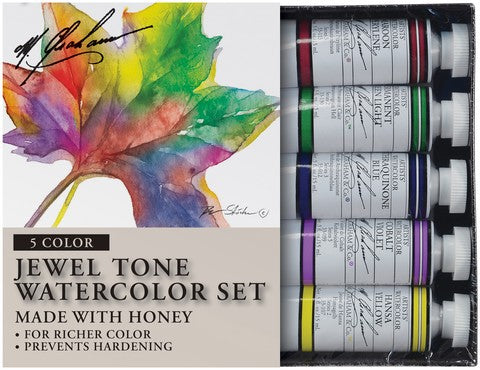 Jewel Tone Watercolor Set