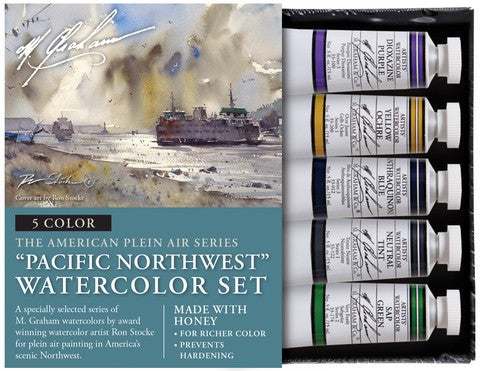 Pacific Northwest Watercolor Set