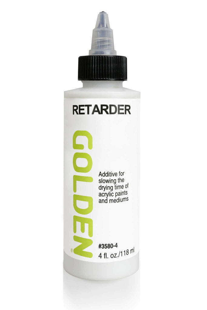 Retarder is an additive used to increase the drying time of acrylic paints