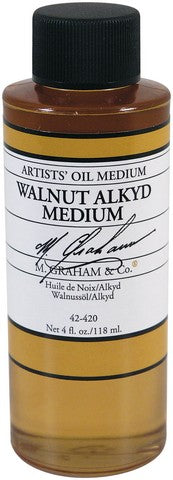 M. Graham Walnut Alkyd Oil Medium