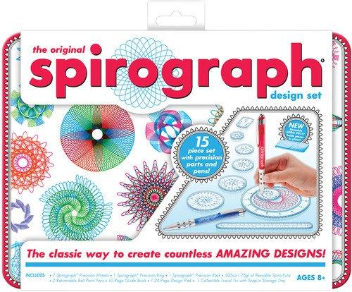 Spirgraph Design Tin