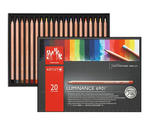 Luminance Colored Pencil Sets