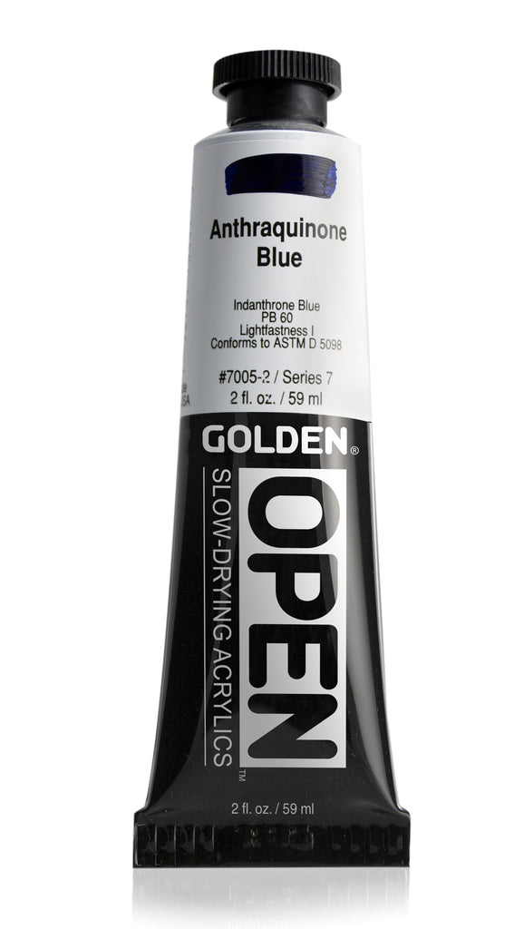 Open Slow Drying Acrylics - 2oz Tubes
