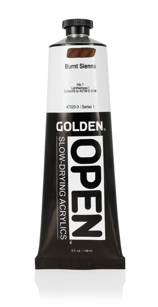 Open Slow Drying Acrylics - 5oz Tubes