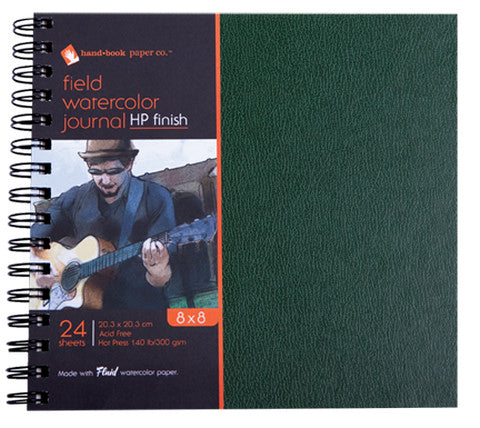 Handbook Hot Press Watercolor Field Journals