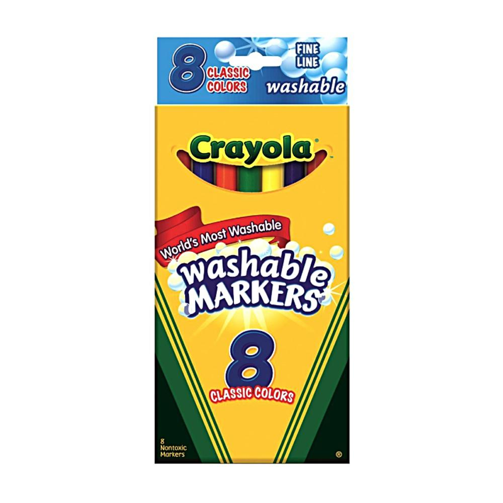 Crayola Fine Point Washable Marker Sets