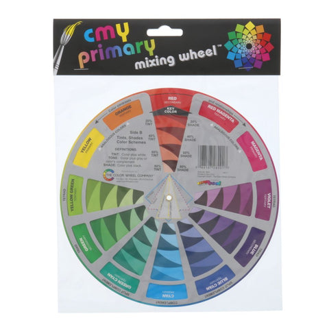 CMY Primary Mixing Wheel