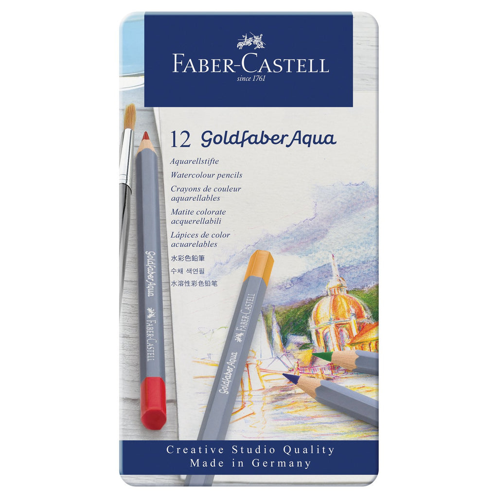 Goldfaber Aqua Watercolor Pencil Sets