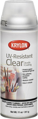 Krylon UV-Resistant Matte Finish Spray - 11oz