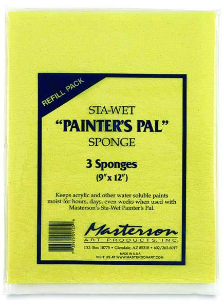 Sta-Wet Painter's Pal Sponges