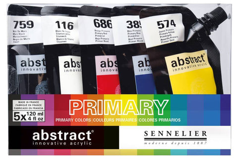 Abstract Acrylic Sets