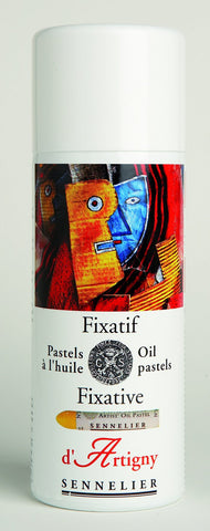 d'Artiginy Oil Pastel Spray Fixative - 400ml Aerosol Can