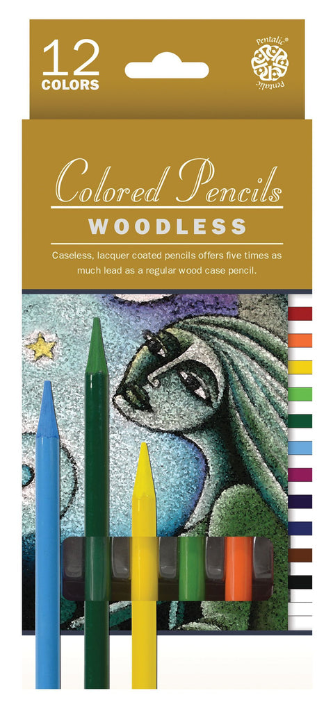 Pentalic Woodless Colored Pencil Set