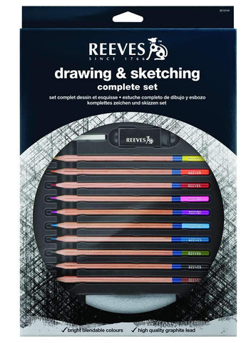 Complete Drawing & Sketching Set