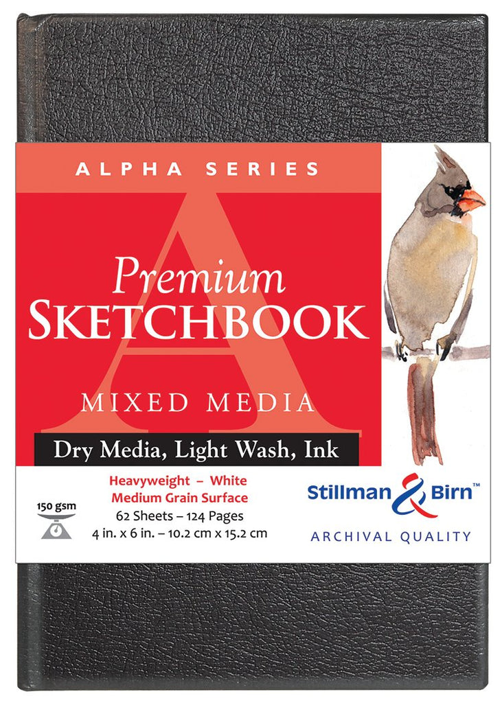 Stillman & Birn Alpha Series Sketchbooks
