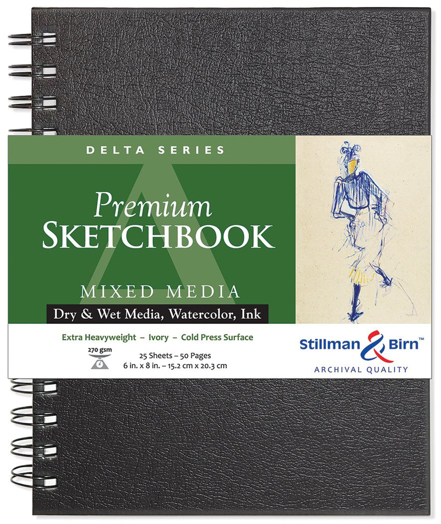 Stillman & Birn Delta Series Sketchbooks