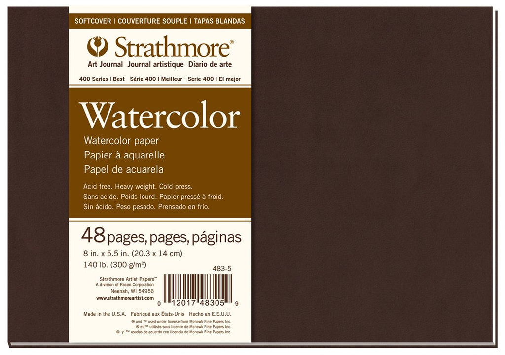 Strathmore Softcover Watercolor Art Journals