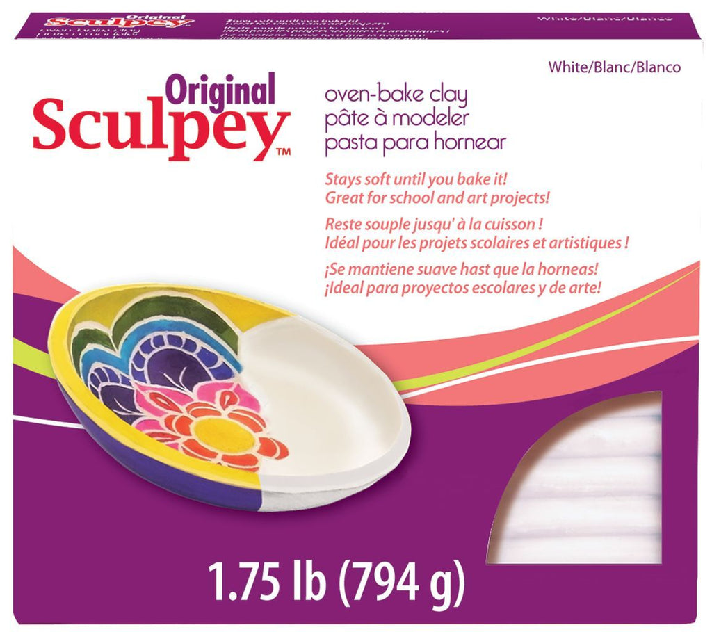 Original Sculpey White 1.75lb