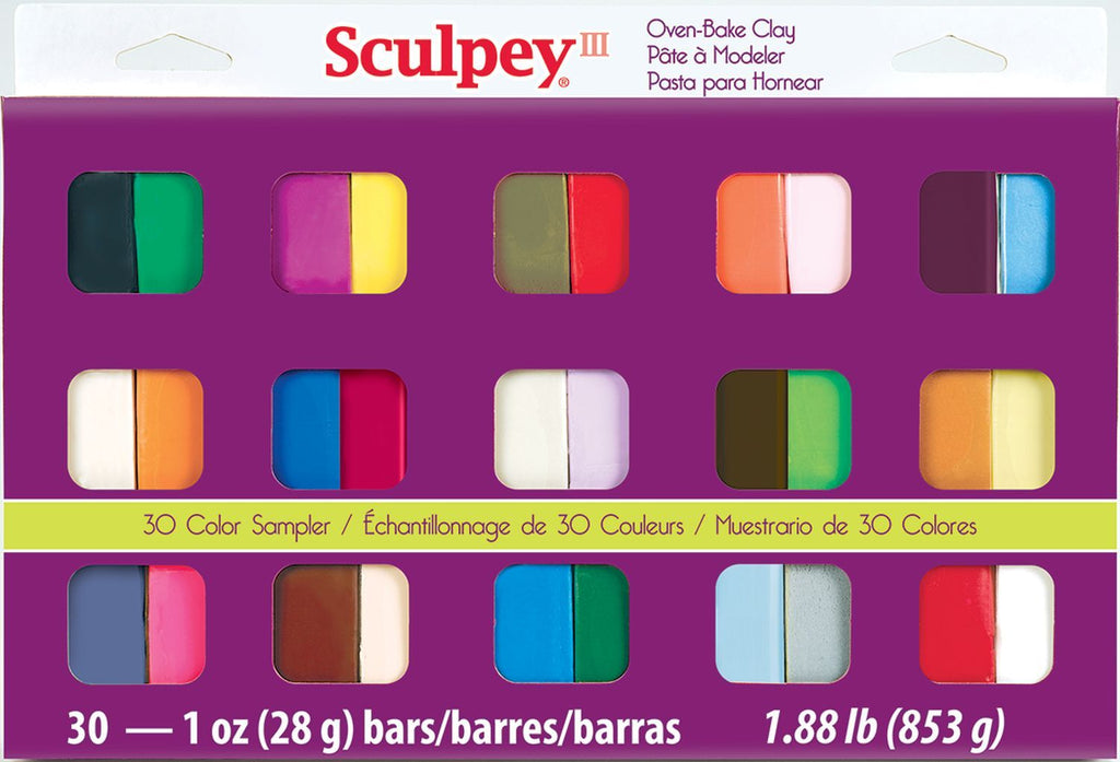 Sculpey III 30 Color Set