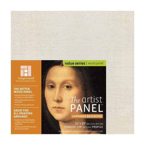 Artist Panels - Unprimed Basswood