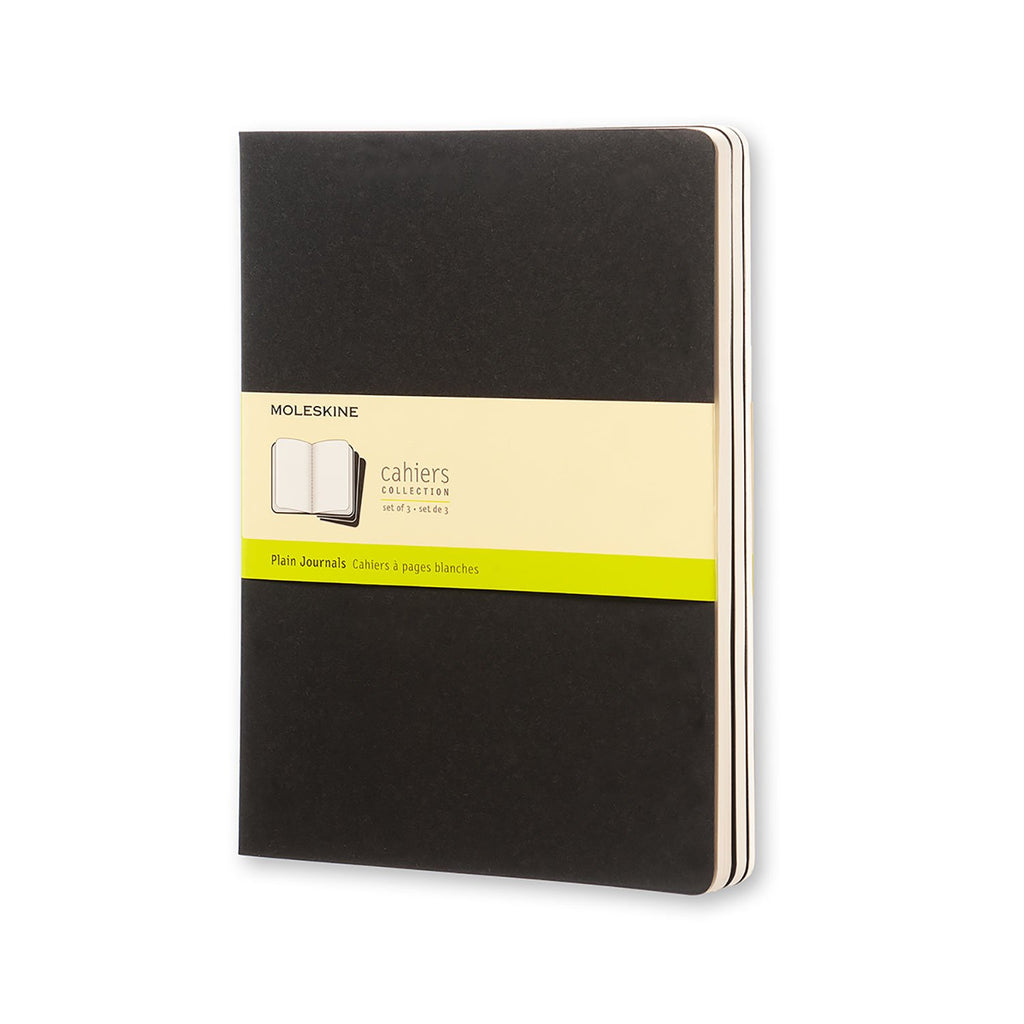 Moleskine Cahiers Collection - Plain Journal 3 Packs