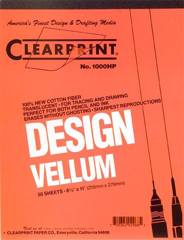Clearprint Vellum Design and Sketch Pads