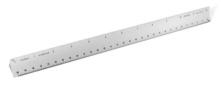 Hollow Engineer Scale (Aluminum)