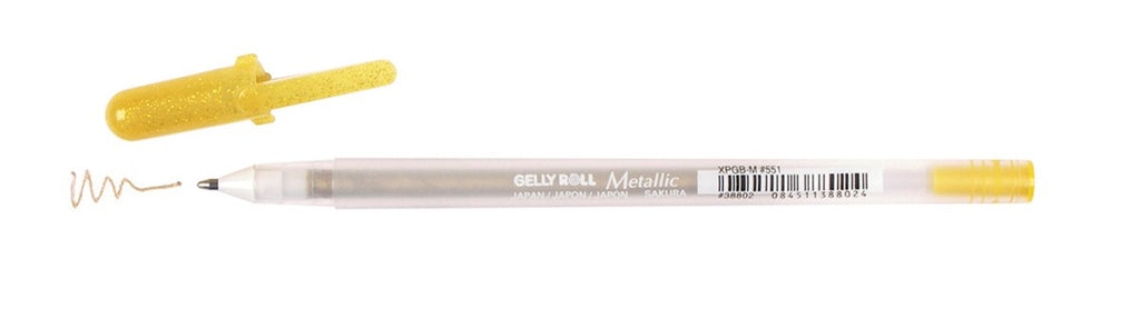 Gelly Roll Metallic Colors