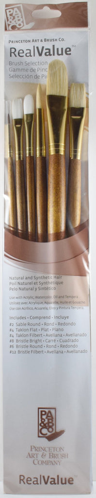 Princeton Real Value Sable Hair 6 Pack